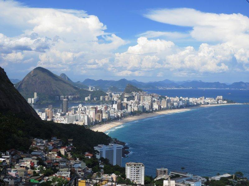 Täyttä elämää favelassa - Hostel Alto Vidigal