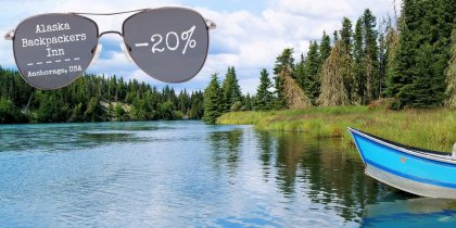 Alaska Backpackers Inn -20%