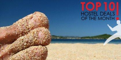 Top 10 heinäkuun hostellitarjoukset