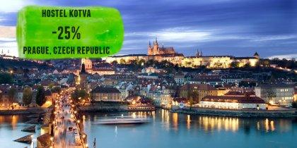 Hostel Kotva -25%