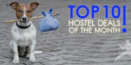 Top 10 Huhtikuun Hostellitarjousta