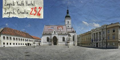 Zagreb Youth Hostel, Kroatia