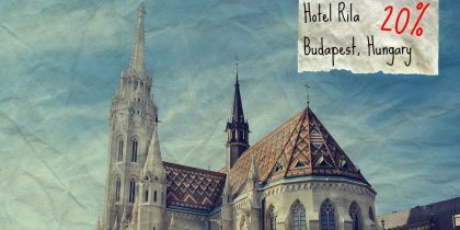 Hotel Rila, Budapest, Unkari