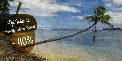 Bounty Island, FIji -40%