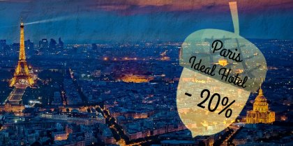 Ideal Hotel Paris -20%