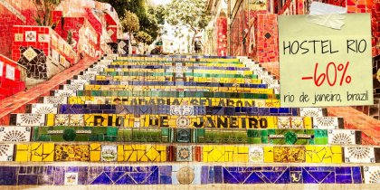 Save 60% on your stay in Rio de Janeiro