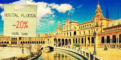 Save 20% on your stay in Seville