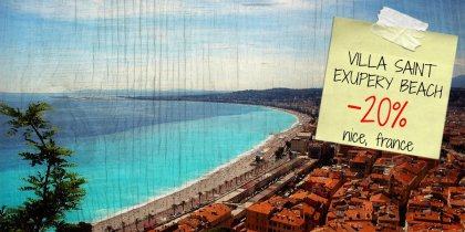 Save 20% on your stay in Nice