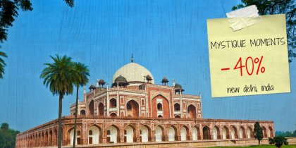 Save 40% on your stay in New Delhi