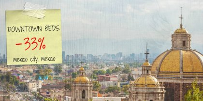 Save 33% on your stay in Mexico City