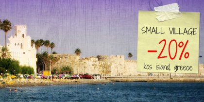 Save 20% on your stay in Kos Island