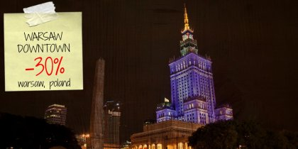 Save 60% on your stay in Warsaw