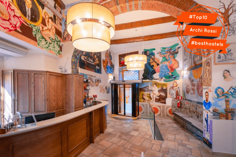 Top 10 Florence: Archi Rossi Hostel