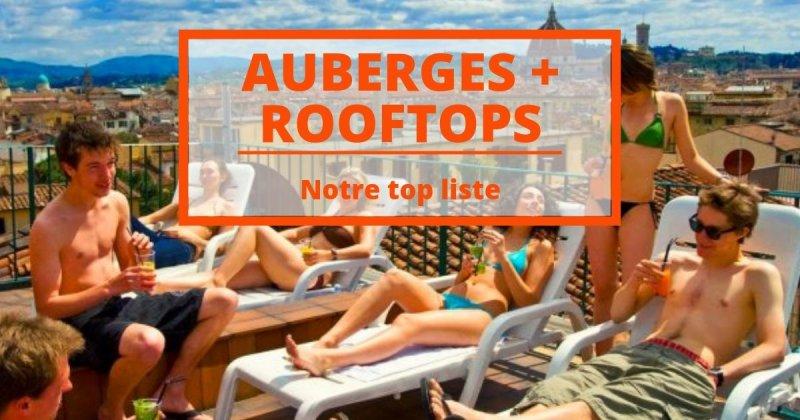 Les auberges avec les plus beaux rooftops du monde