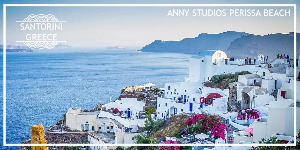 Anny Studios Perissa Beach in Santorini