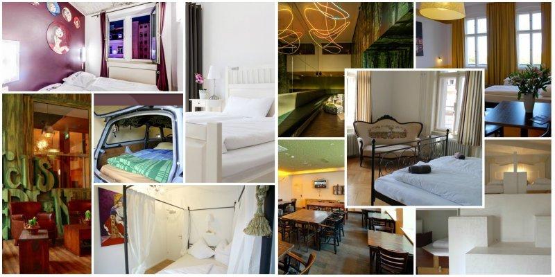 Njemački dizajn hosteli: boutique hosteli koji nude luksuzan backpacker smještaj