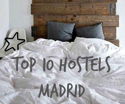 Top 10 hosteli Madrida!