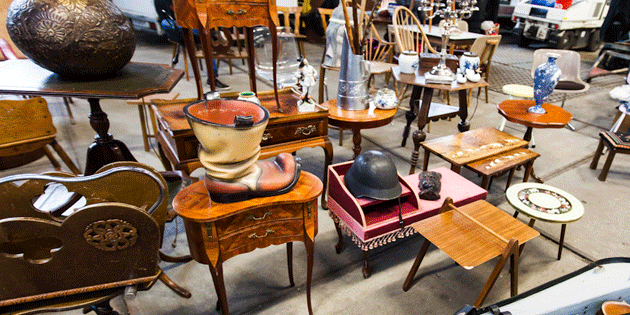 Ijhallen is the largest flea market in Holland