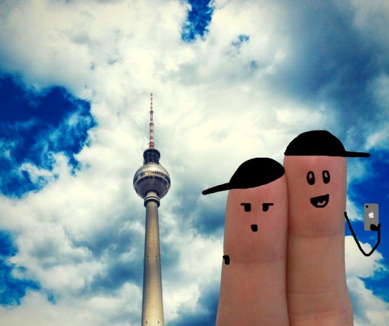 La Torre delle Televisioni di Alexanderplatz