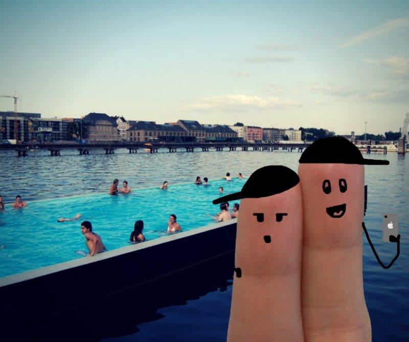 La piscina di Badeschiff