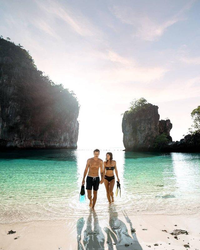 viaggio di nozze in spiaggia in Thailandia