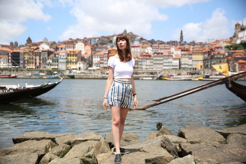 Scorcio su Porto