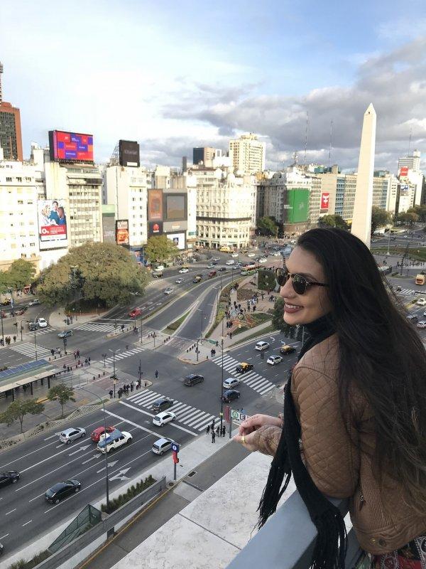 L'obelisco, simbolo di Buenos Aires