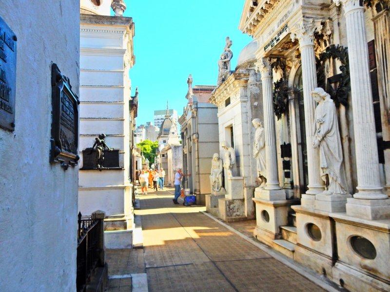 Il cimitero di Recoleta a Buenos Aires