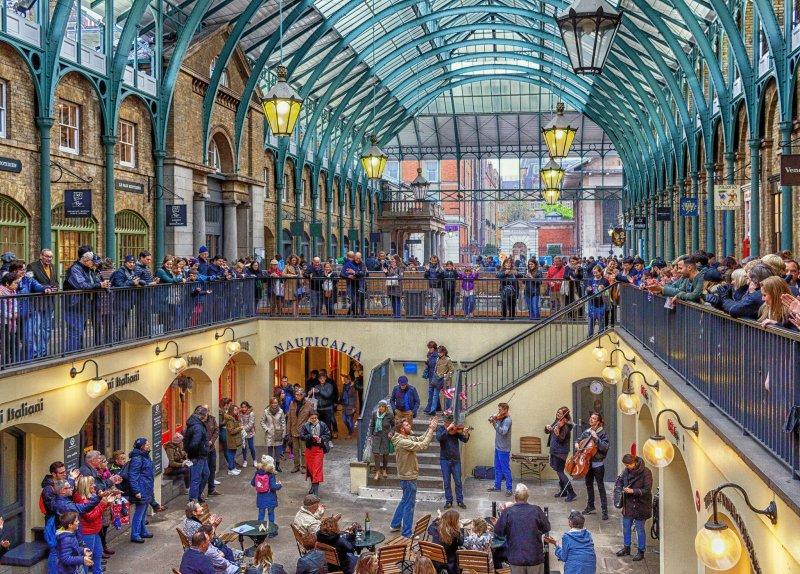 Covent Garden, uno dei quartieri più belli da visitare a Londra in coppia
