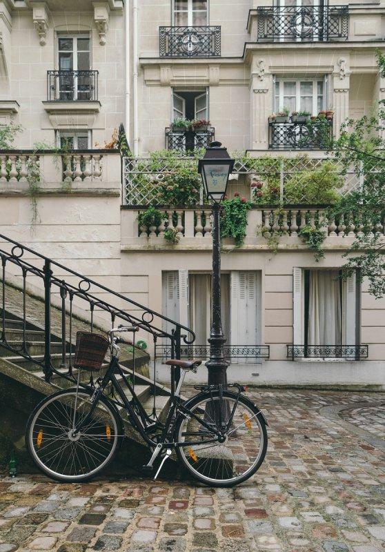 La bicicletta è il mezzo ideale per non lasciare impronte viaggiando