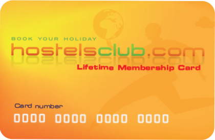 HostelsClub Membership Card