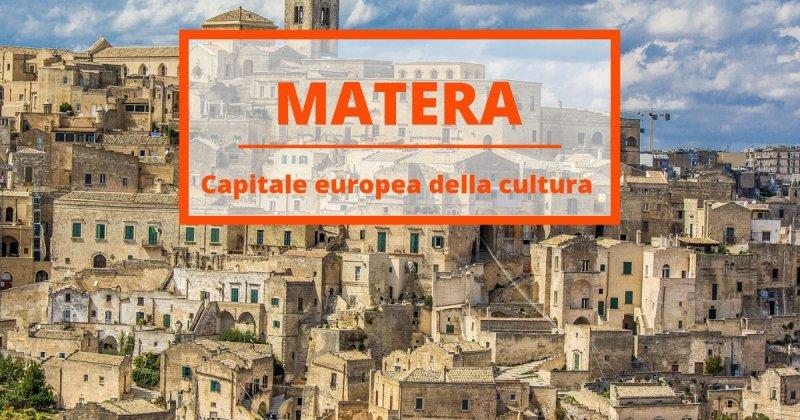 Cinque percorsi di Matera 2019, capitale europea della Cultura
