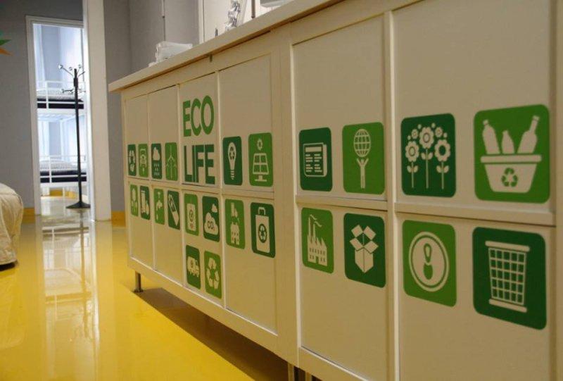 Eco hostel che rispetta l'ambiente