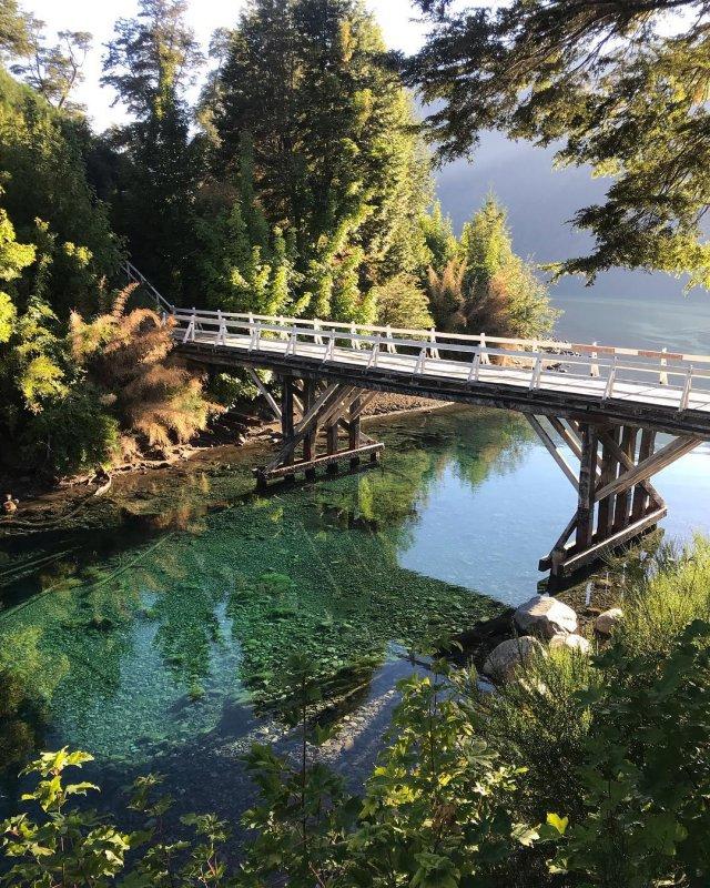 Viaggio in Patagonia - Il Lago Correntoso