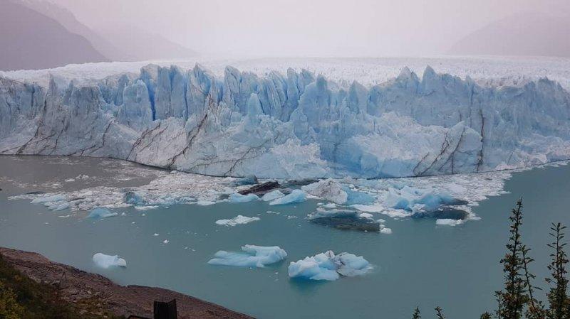 Panoramica sul ghiacciaio Perito Moreno