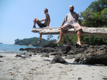 Mark e Stefy in Costa Rica
