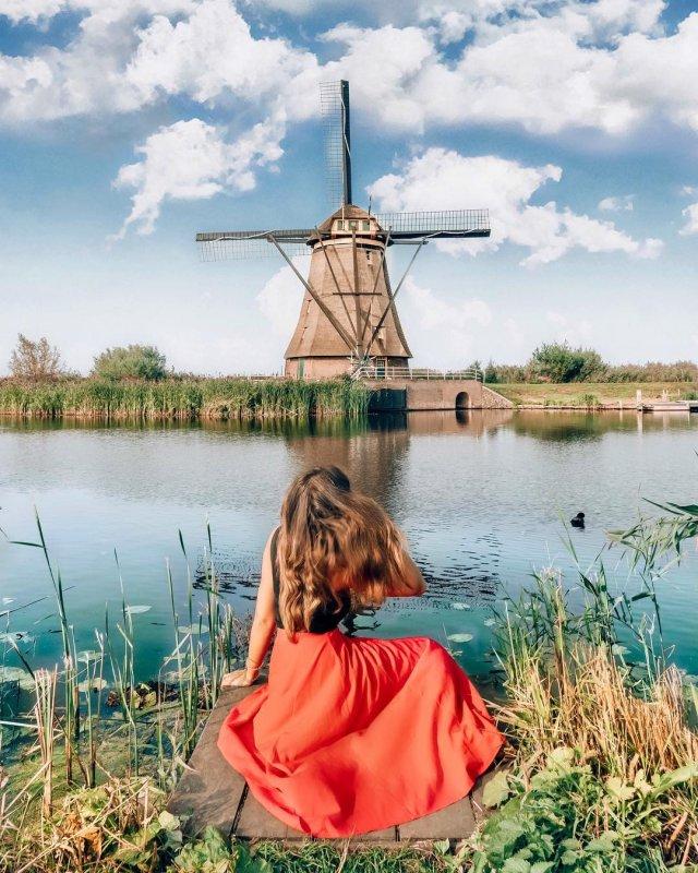 I meravigliosi mulini a vento di Kinderdijk