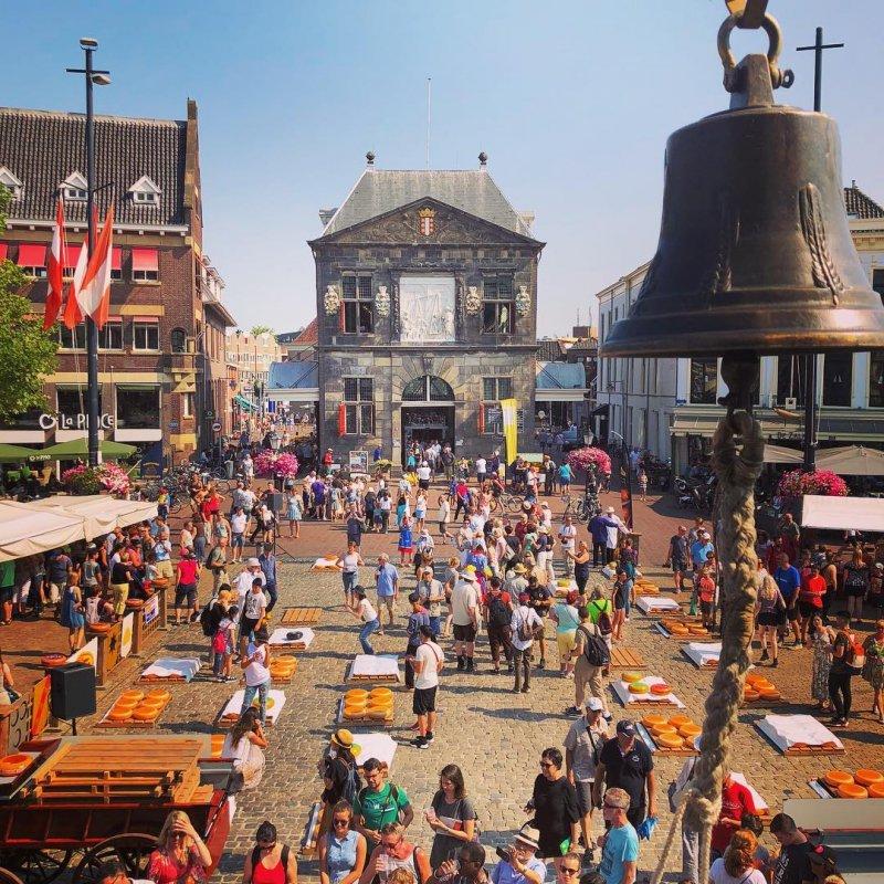 La Piazza del Mercato di Gouda