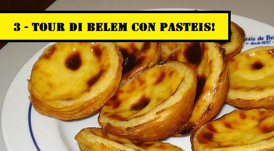 3 - Tour di Belem con Pasteis