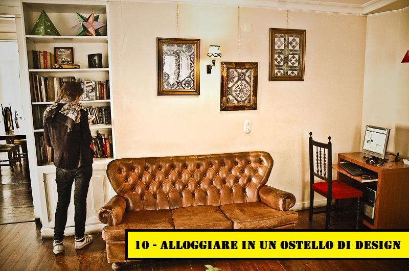 10 - Alloggiare in un ostello di design a Lisbona