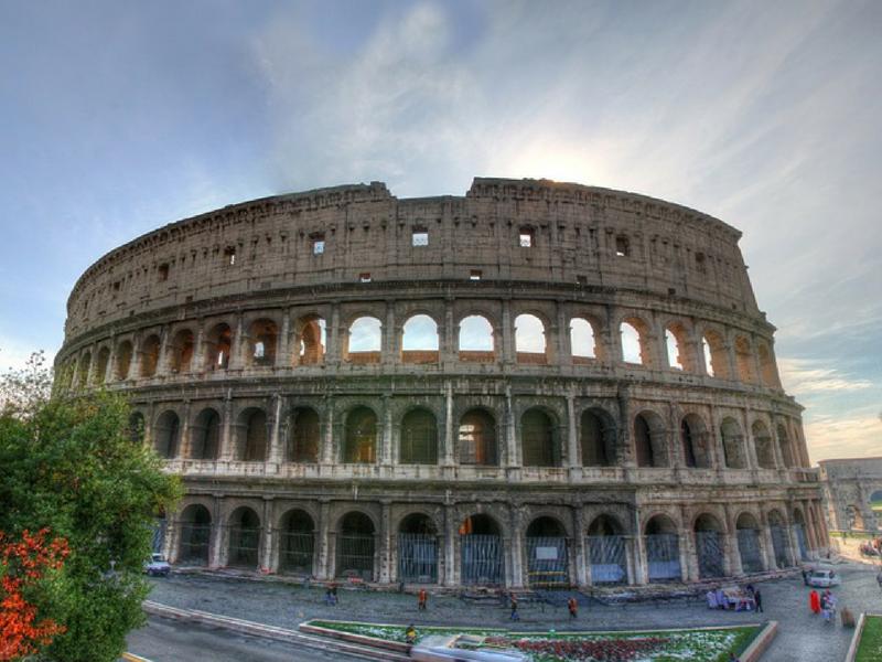 이틀간의 로마 여행