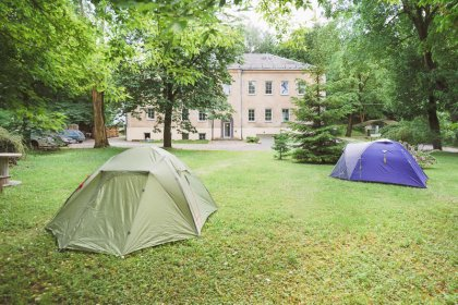 dowtown camping