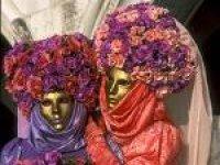 De sensatie is: het Venetiaanse Carnaval
