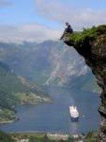 Het Noorderlicht van Noorwegen
