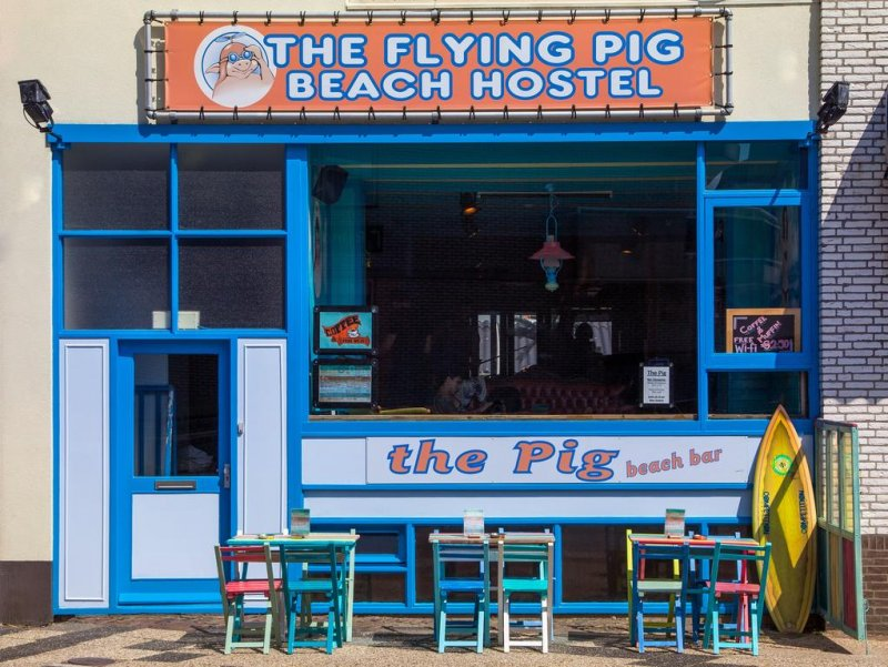 Flying Pig Beach Hostel, Amsterdam
