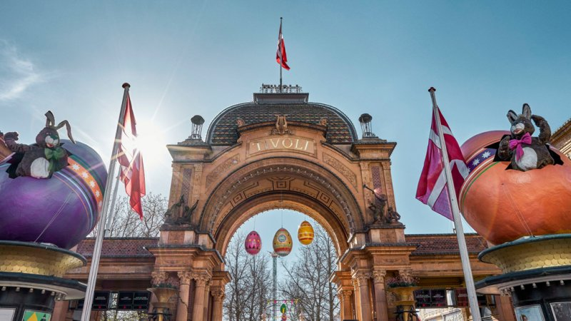 Tivoli Gate what to see and do in Copenhagen