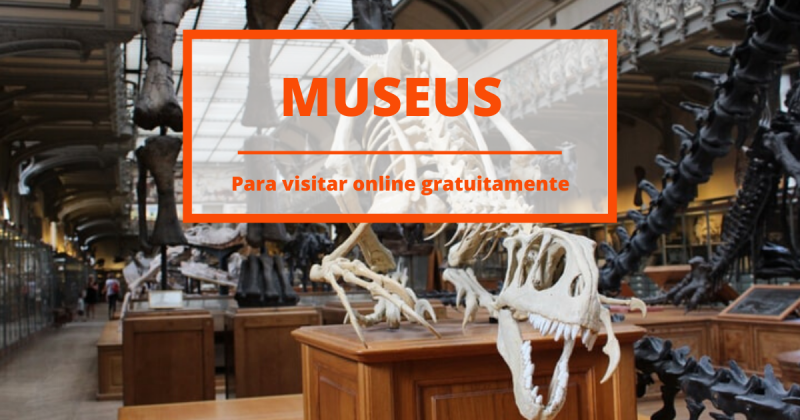 15 museus espalhados pelo mundo para visitares online gratuitamente