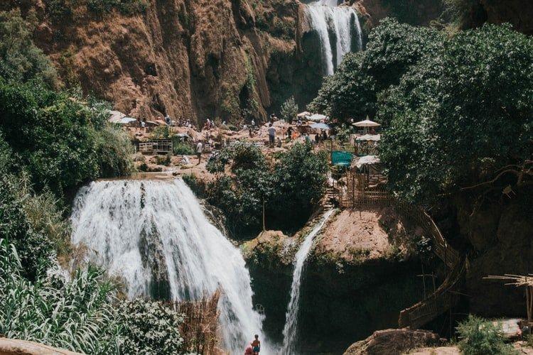 cascatas marrocos