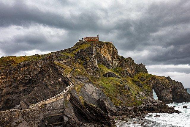 l'Île de Gaztelugatxe lieux de tournage game of thrones