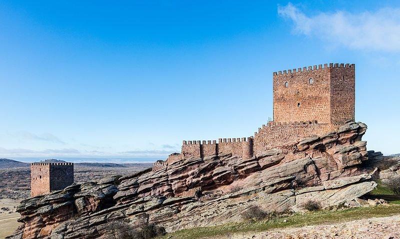 château de Zafra lieux de tournage game of thrones